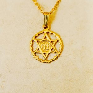 jewish necklace for men